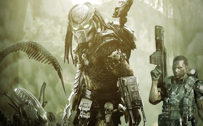 Aliens vs Predator Game Wallpaper HD