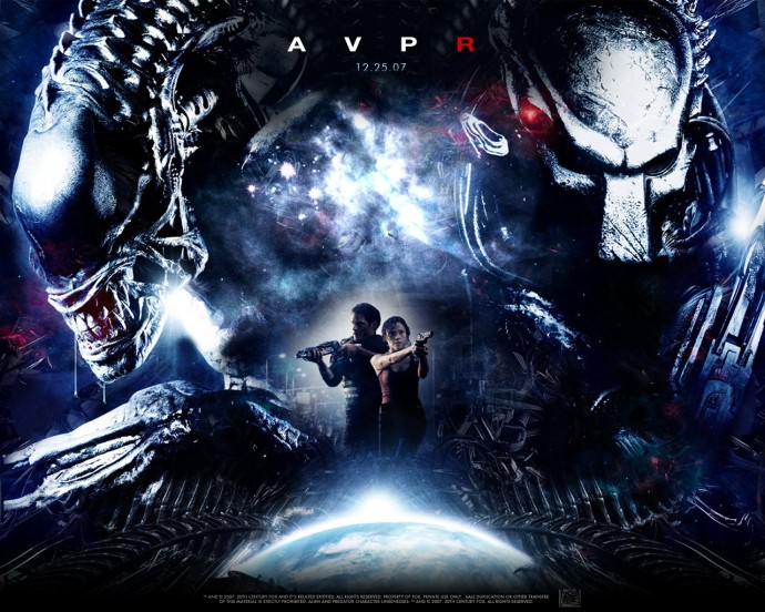Aliens vs Predator Requiem Wallpaper