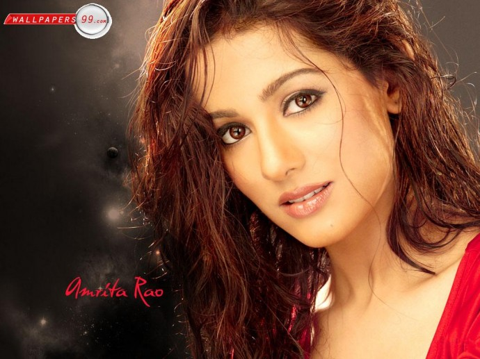 Beautiful Face Amrita Rao Wallpaper