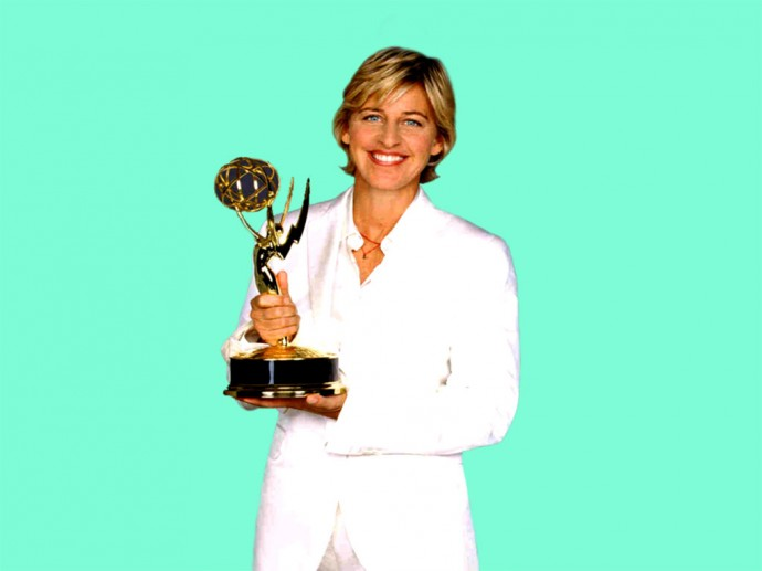 Celebrity Ellen DeGeneres Wallpaper