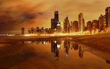 Chicago Nights Wallpaper Desktop
