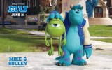 Free Monsters University Wallpaper 2013