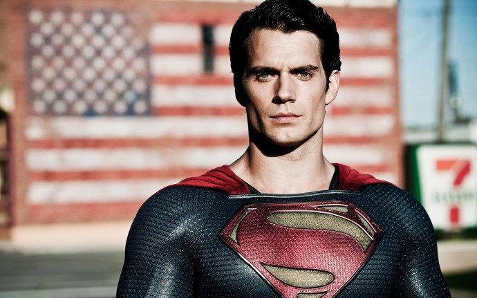 Henry Cavill in Man of Steel Wallpaper