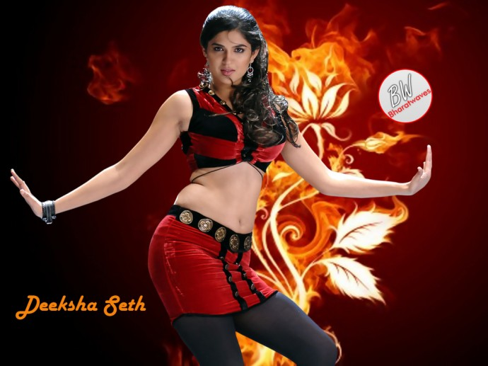 Mirapakaya Actress Deeksha Seth Wallpapers