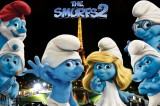 New Smurfs 2 Wallpaper in Paris