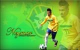 Neymar Brazil 2013 HD Wallpaper