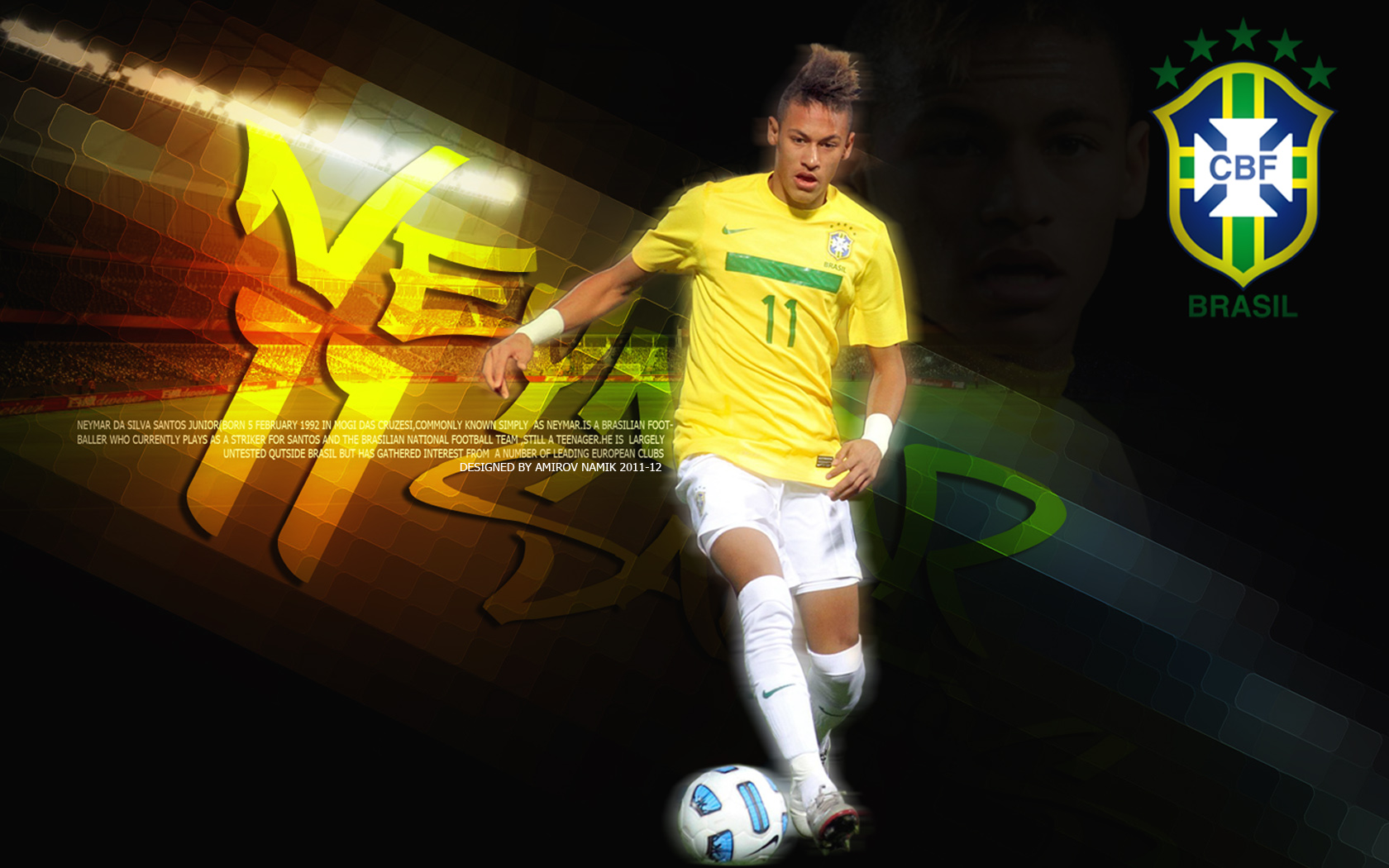 Neymar Desktop Wallpaper