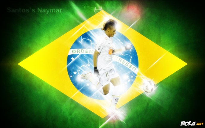 Neymar Santos HD Wallpaper