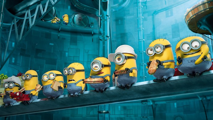Paradise Minions Despicable Me 2 Wallpaper