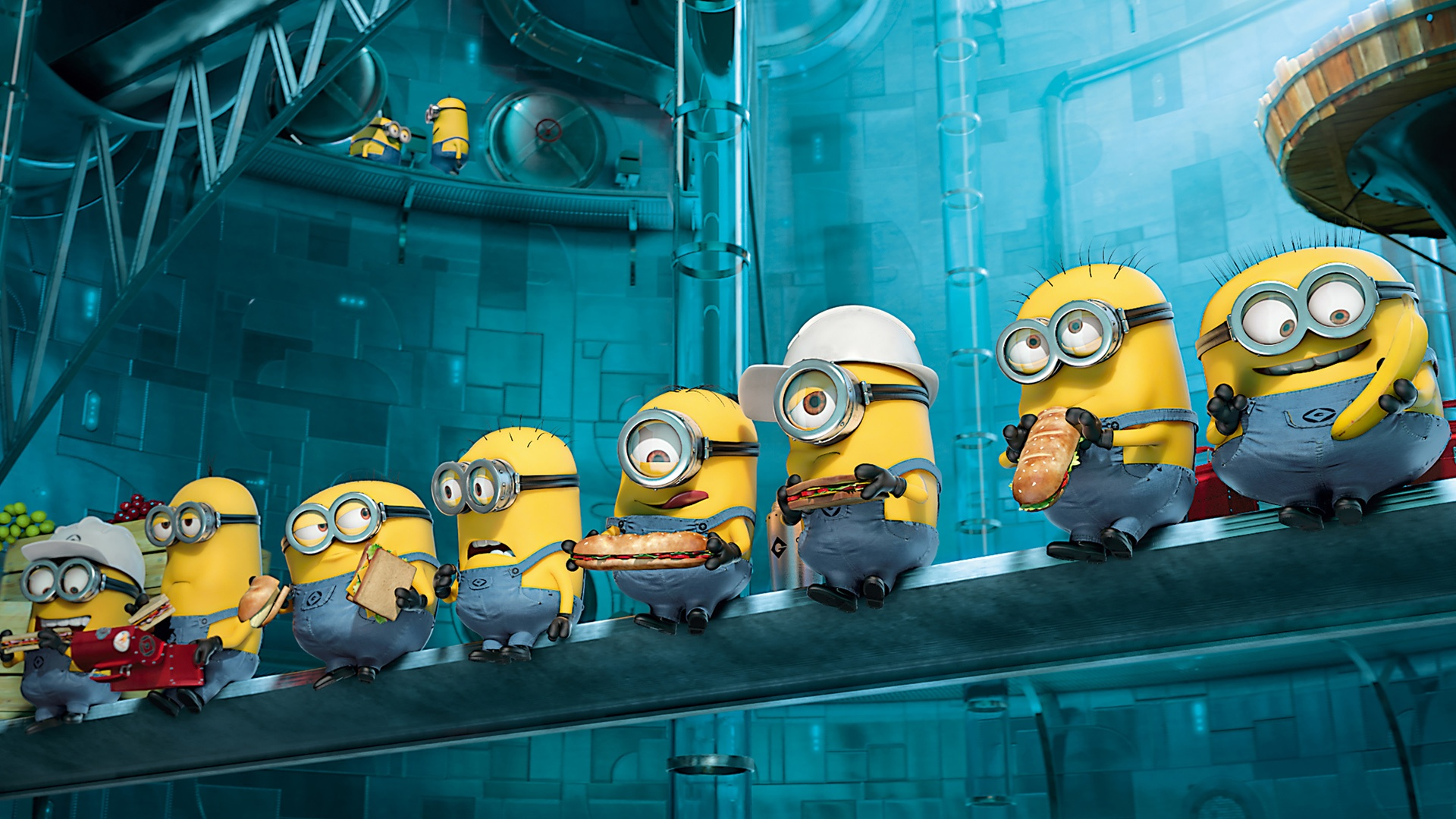 File Name : Paradise Minions Despicable Me 2 Wallpaper
