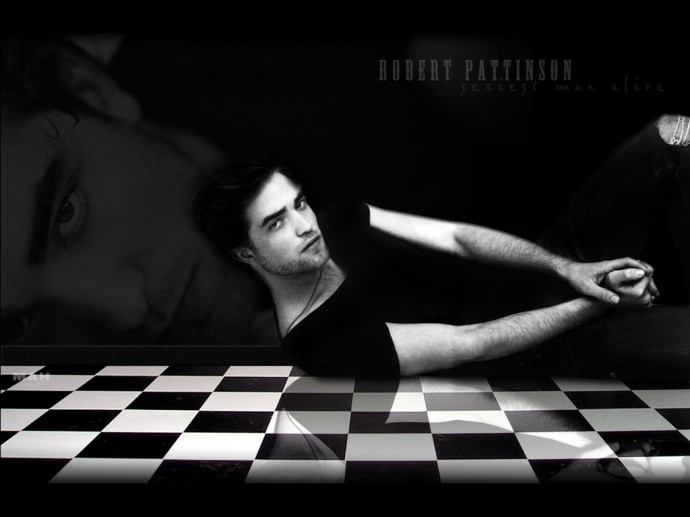 Robert Pattinson Wide Wallpaper