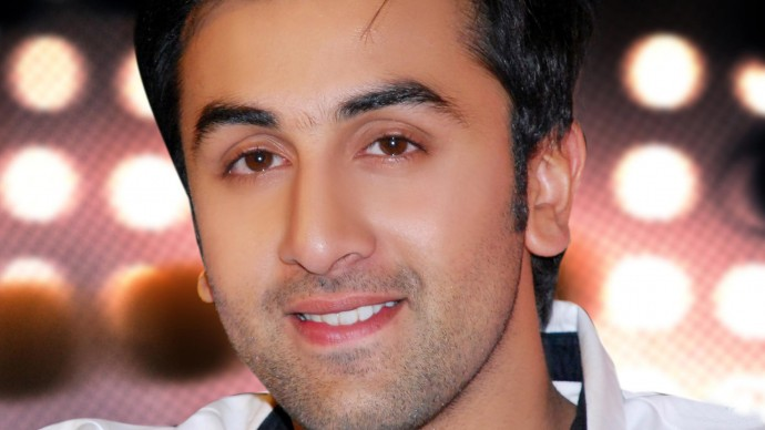Smiling Cute Ranbir Kapoor Wallpaper