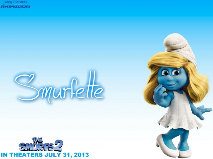 The Smurfs 2 Full HD Wallpaper