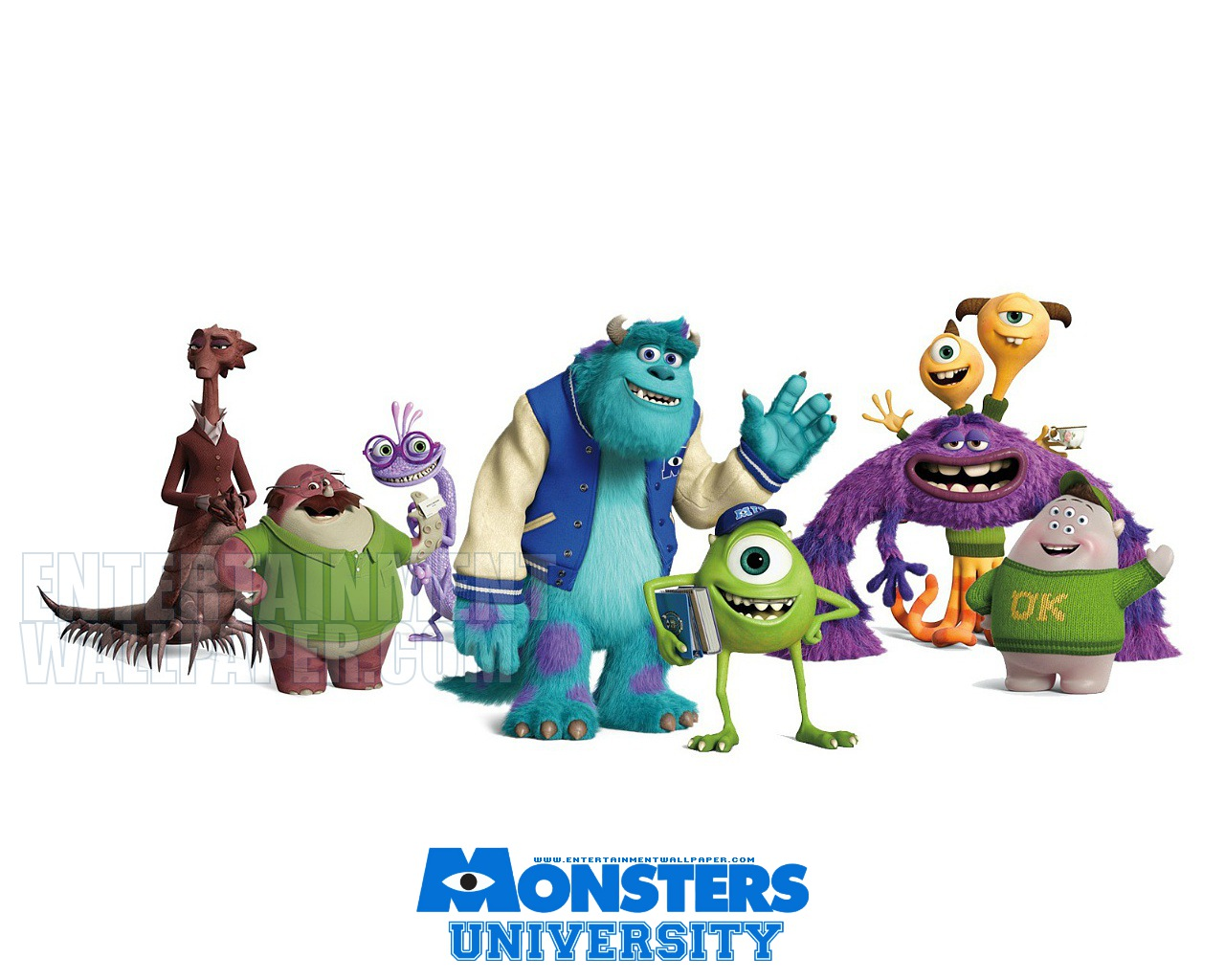 Wallpapers Monsters University | ImageBank.biz