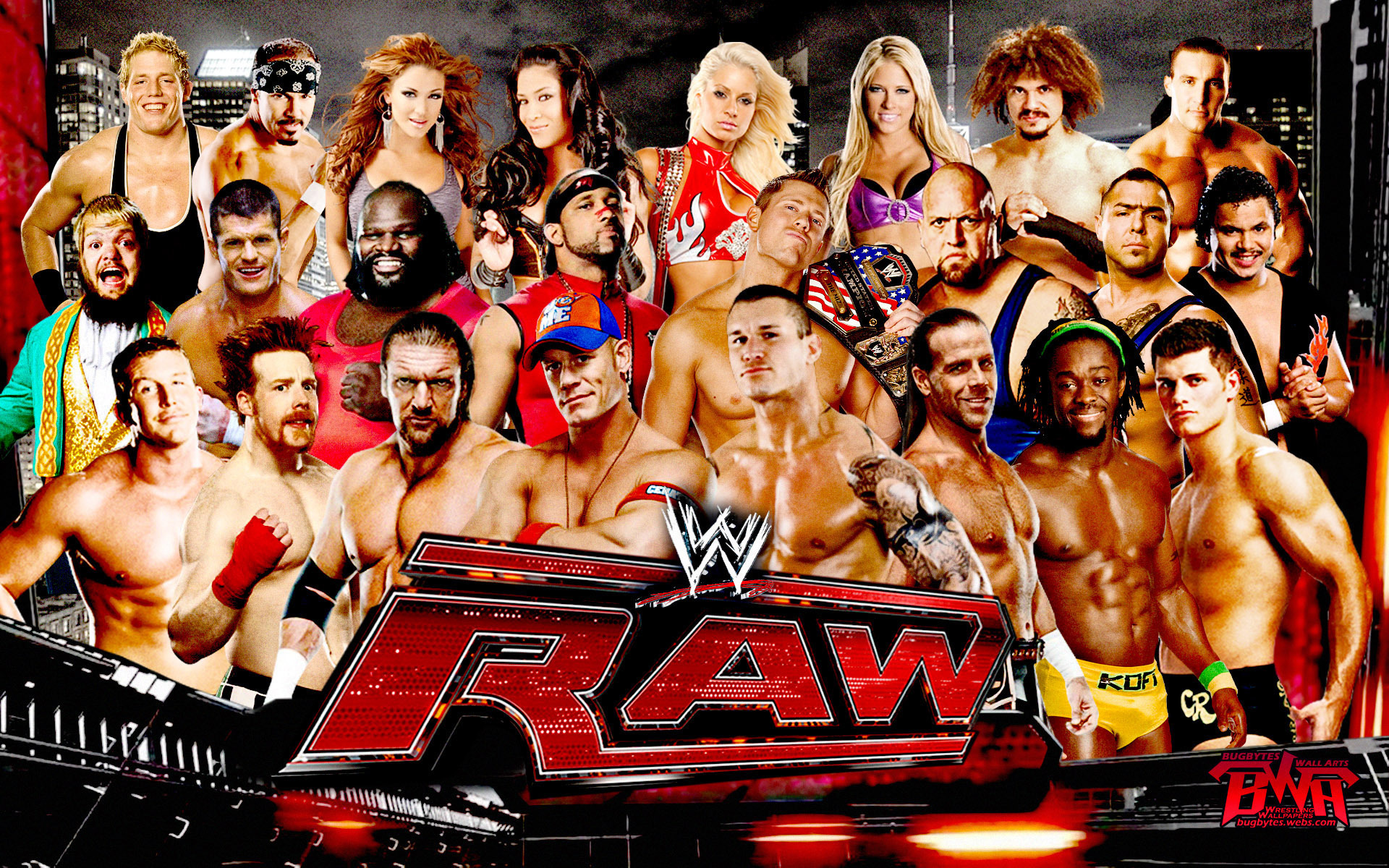 Wwe Raw Hd Wallpaper Widescreen