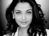 Aishwarya Rai Black and White Wallpaper