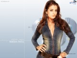 Amisha Patel Sexy Wallpaper 2013