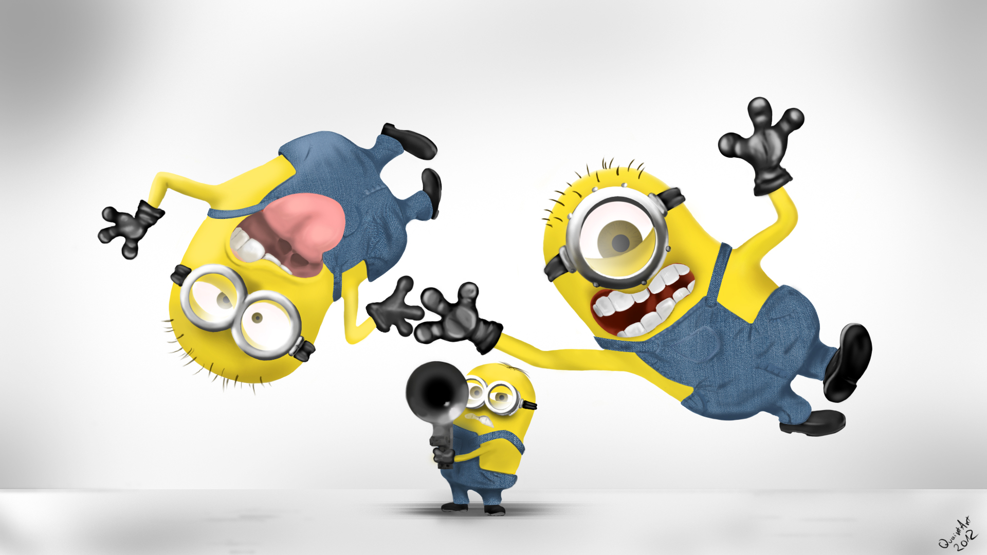 Despicable me 2 minions wallpaper 1920x1080 - Despicable me minion screensaver ...