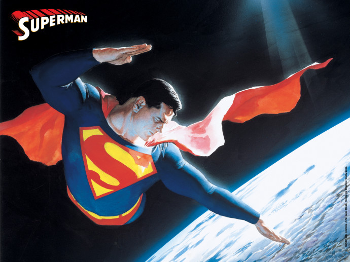 Download Superman Cartoon Wallpaper