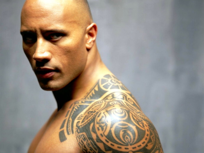 Dwayne Johnson Tattoo Wallpaper 2013