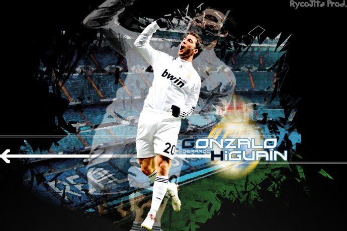 Gonzalo Higuain Desktop Wallpaper