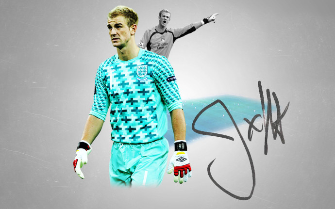 Joe Hart Football Wallpaper