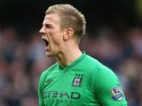 Joe Hart Manchester City Desktop Wallpaper