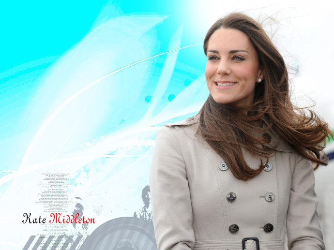 Kate Middleton Smile Wallpaper