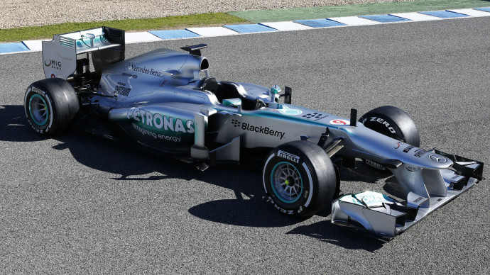 Mercedes GP F1 2013 Wallpaper HD