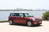 New Mini Clubman Red Wallpaper HD