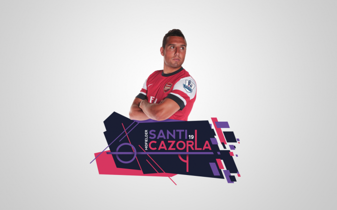 Santi Cazorla Desktop Wallpaper