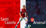 Santi Cazorla Wallpaper Background