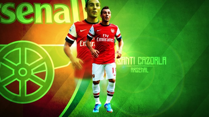 Santi Cazorla Wallpaper Iphone