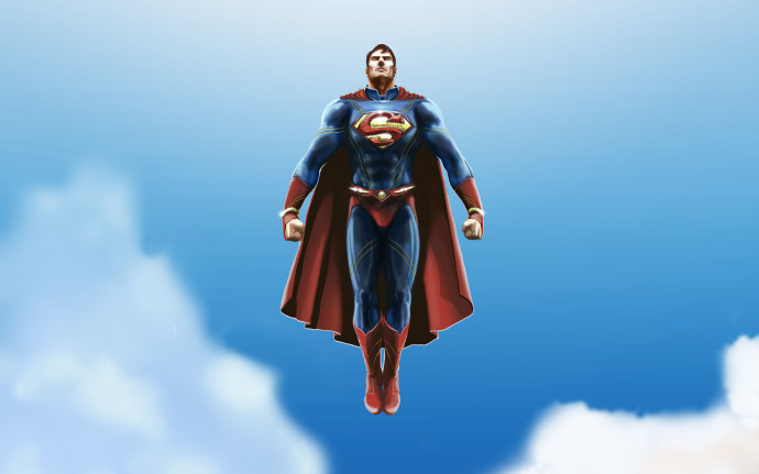 Superman Cartoon Wallpaper Mobile