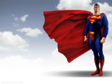 Superman Cartoon wallpaper Widescreen