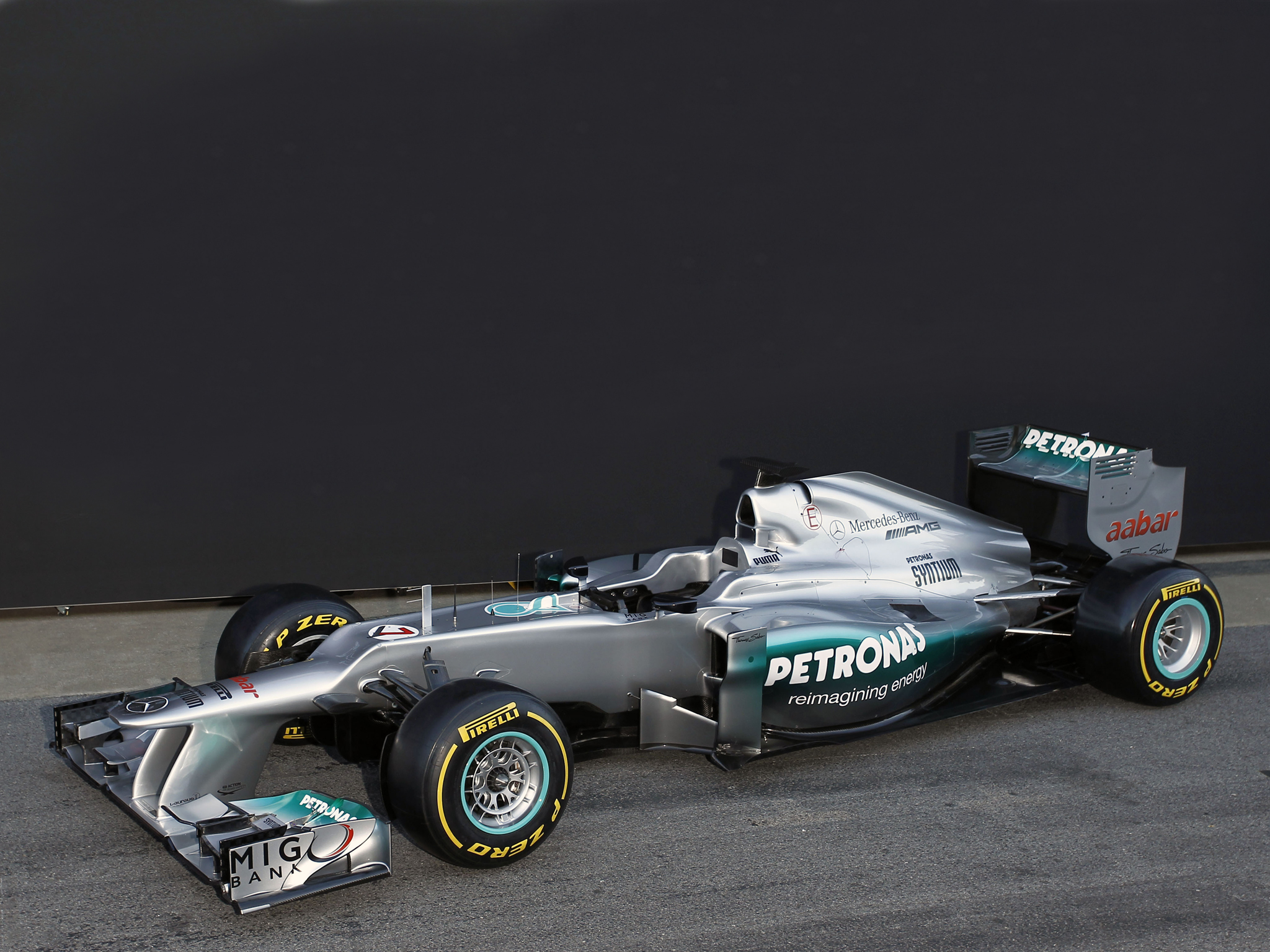 Wallpapers Mercedes GP F1 2013
