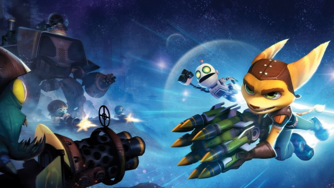 Wallpapers Ratchet & Clank Full Frontal Assault