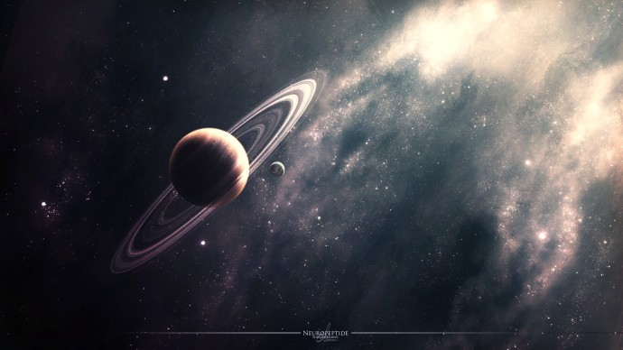 Planet in space Wallpapers