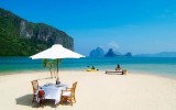 Table on Beach Wallpapers
