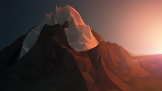 Rendering Mountains Wallpapers