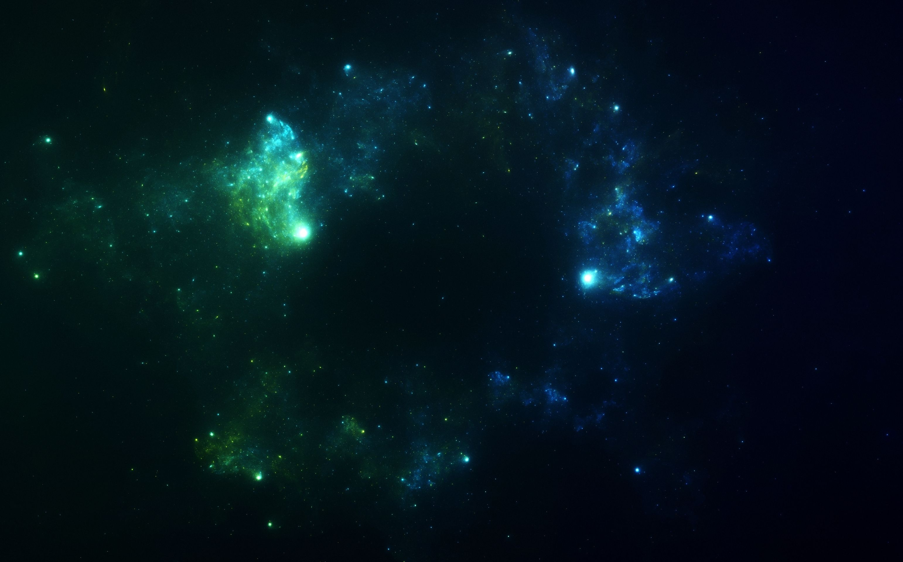 green high resolution nebula wallpaper - photo #12