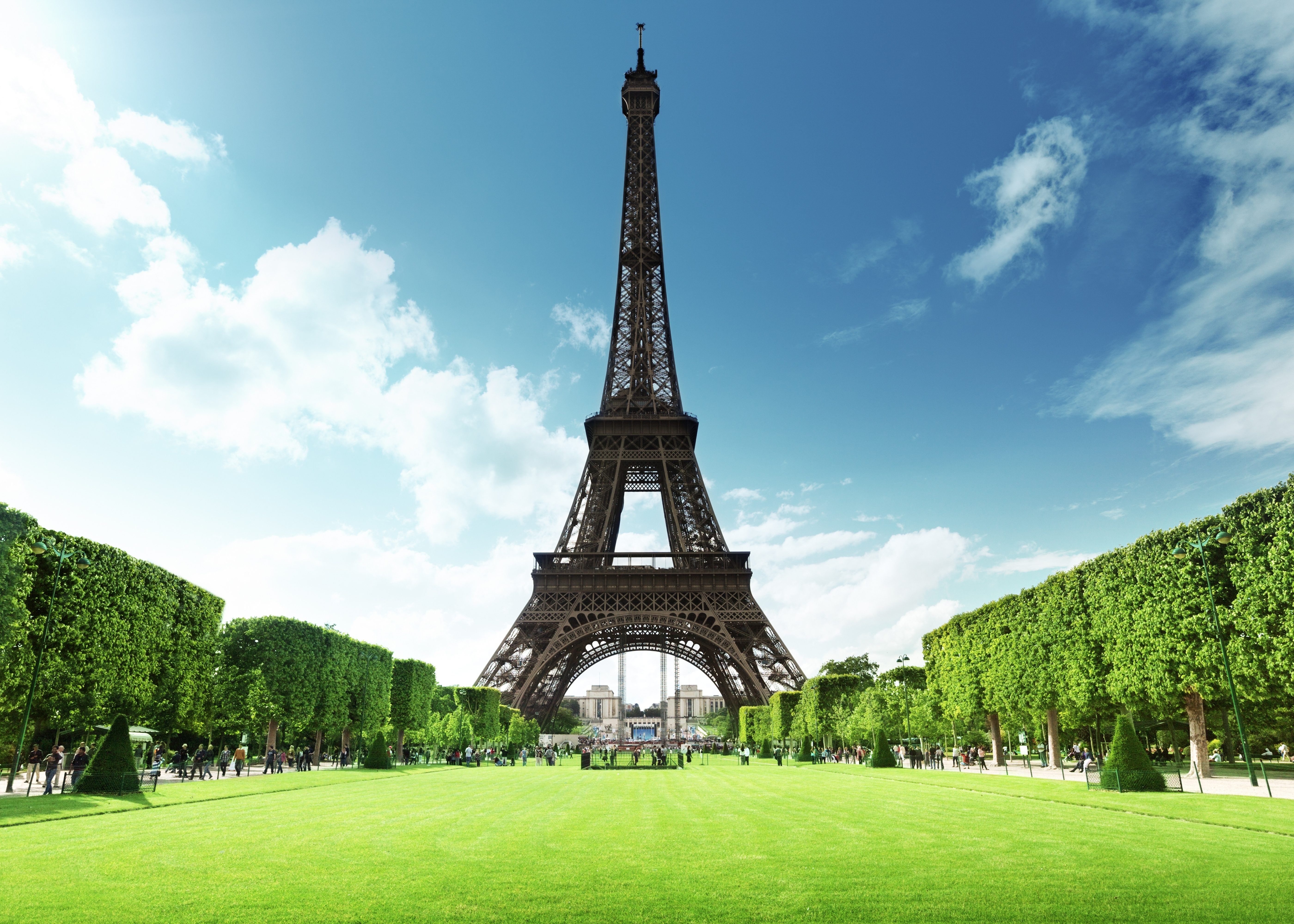 High Quality Wallpaper Of The Eiffel Tower, Photo Of Park