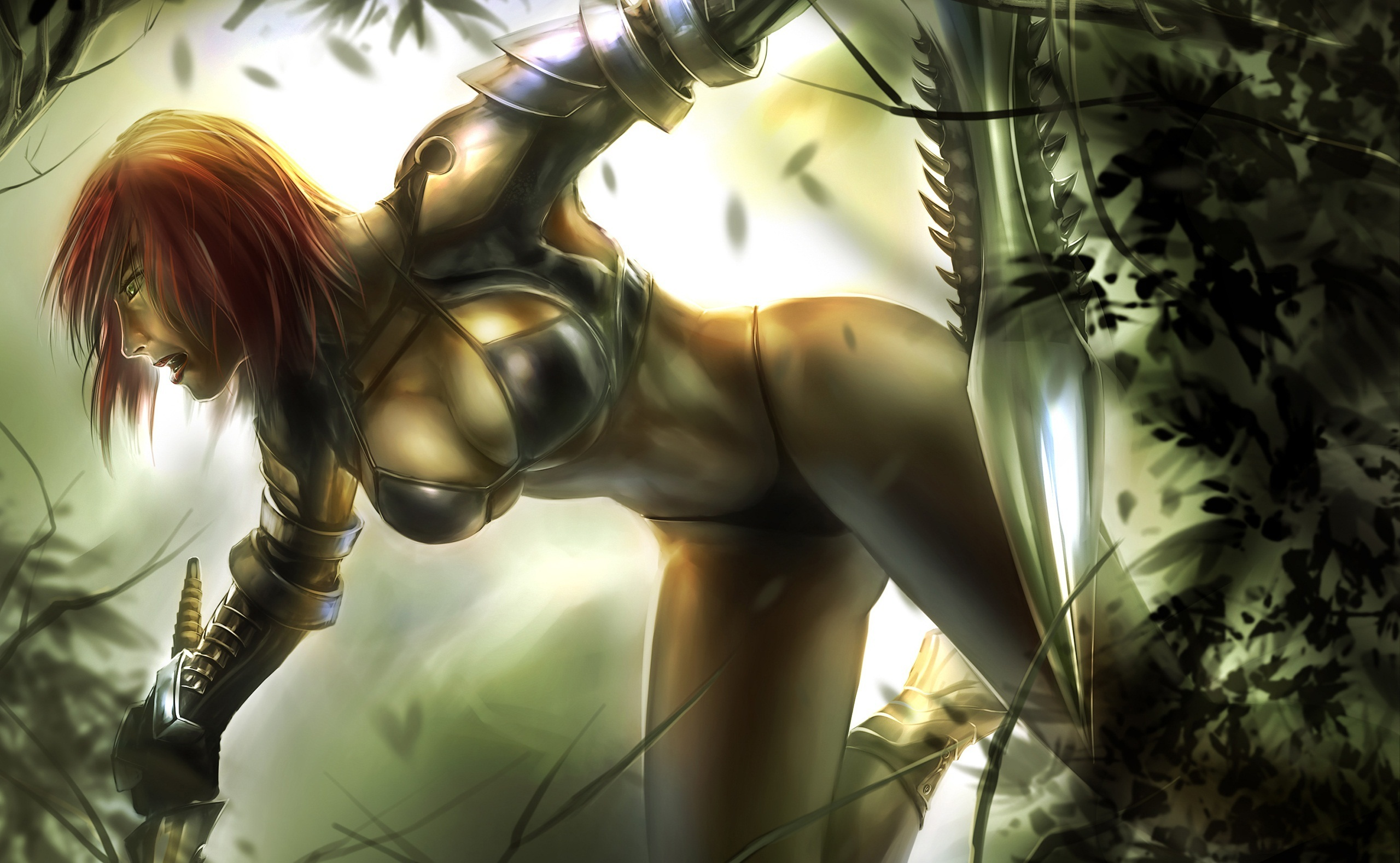 Female warriors erotic pic anime images