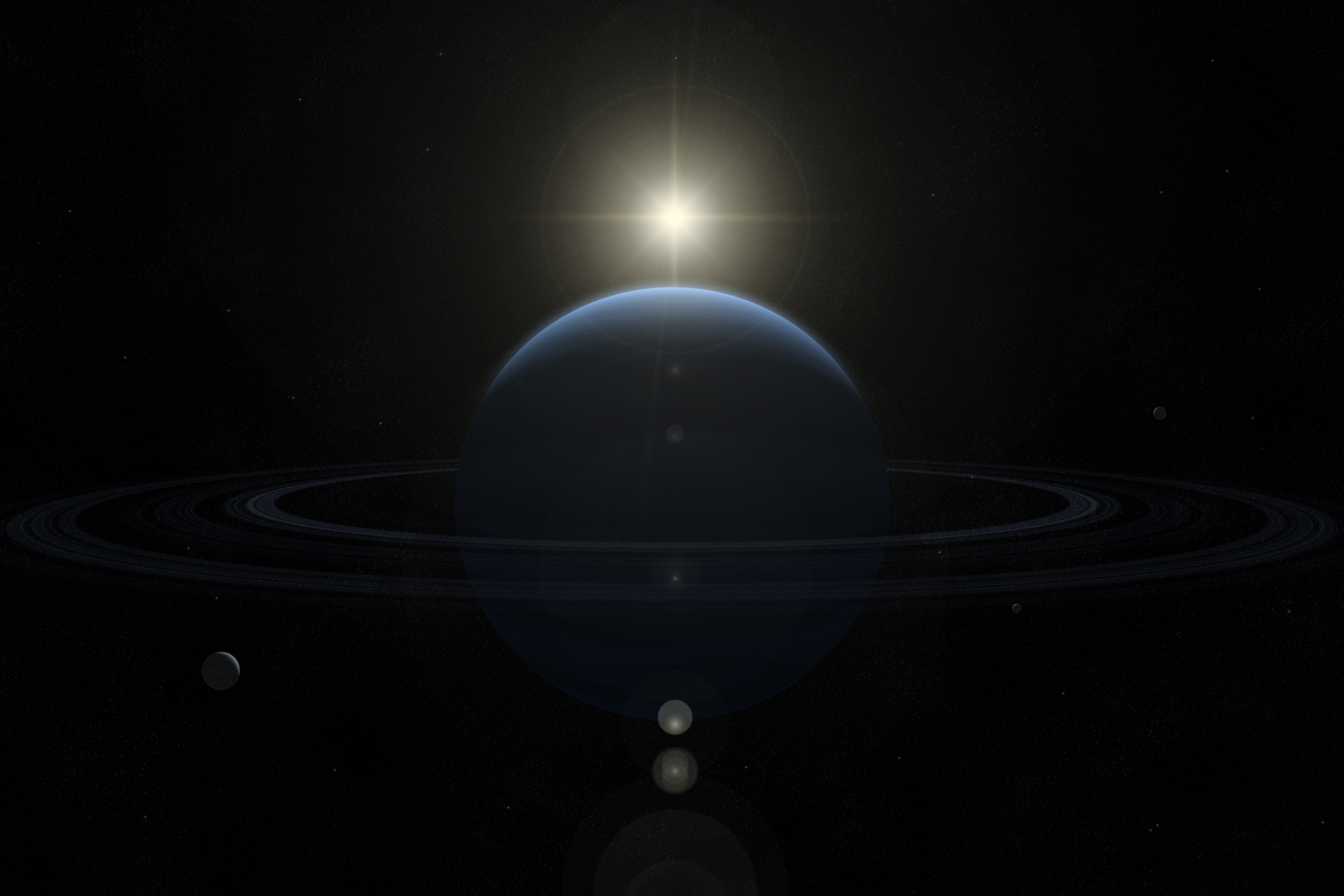 Best Wallpaper Of Neptune, Image Of The Gas Giant, Rings