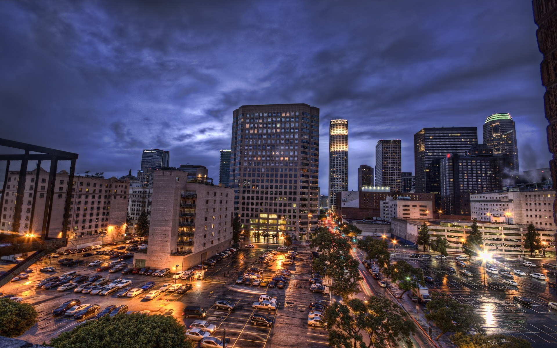 Cool Picture Of Downtown La Wallpaper Of Los Angeles California