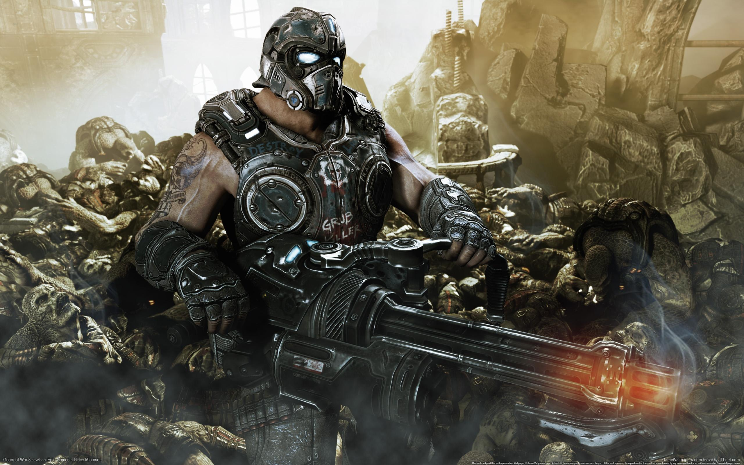 High quality wallpaper of gears of war image of 3 clayton carmine - Gears of war carmine wallpaper ...