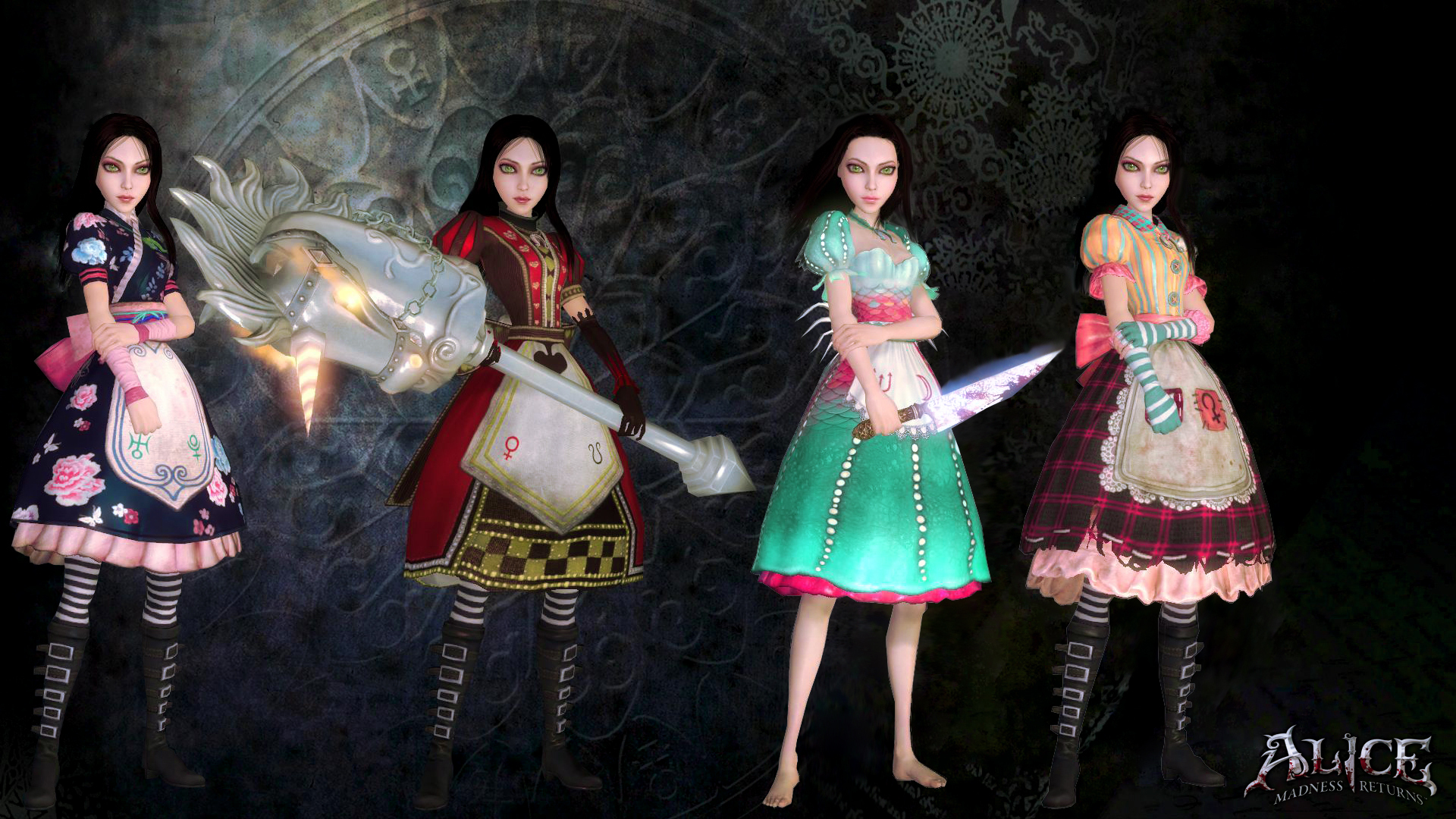 Alice: madness returns patch anime clips