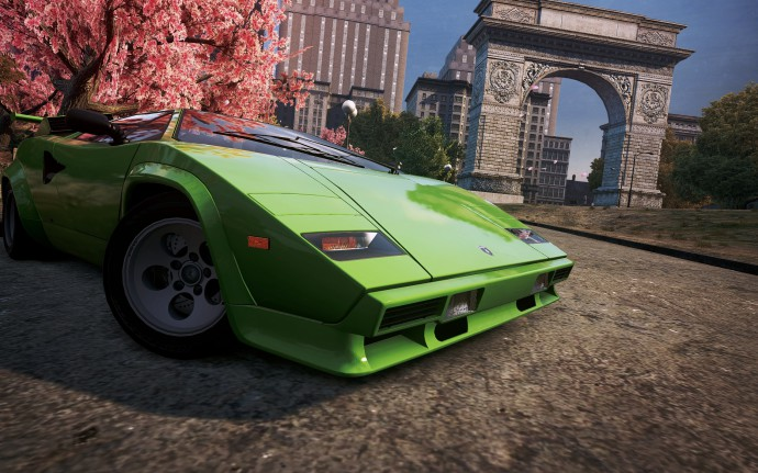 high quality photo of need for speed most wanted 2012 desktop wallpaper of lamborghini countach. Black Bedroom Furniture Sets. Home Design Ideas