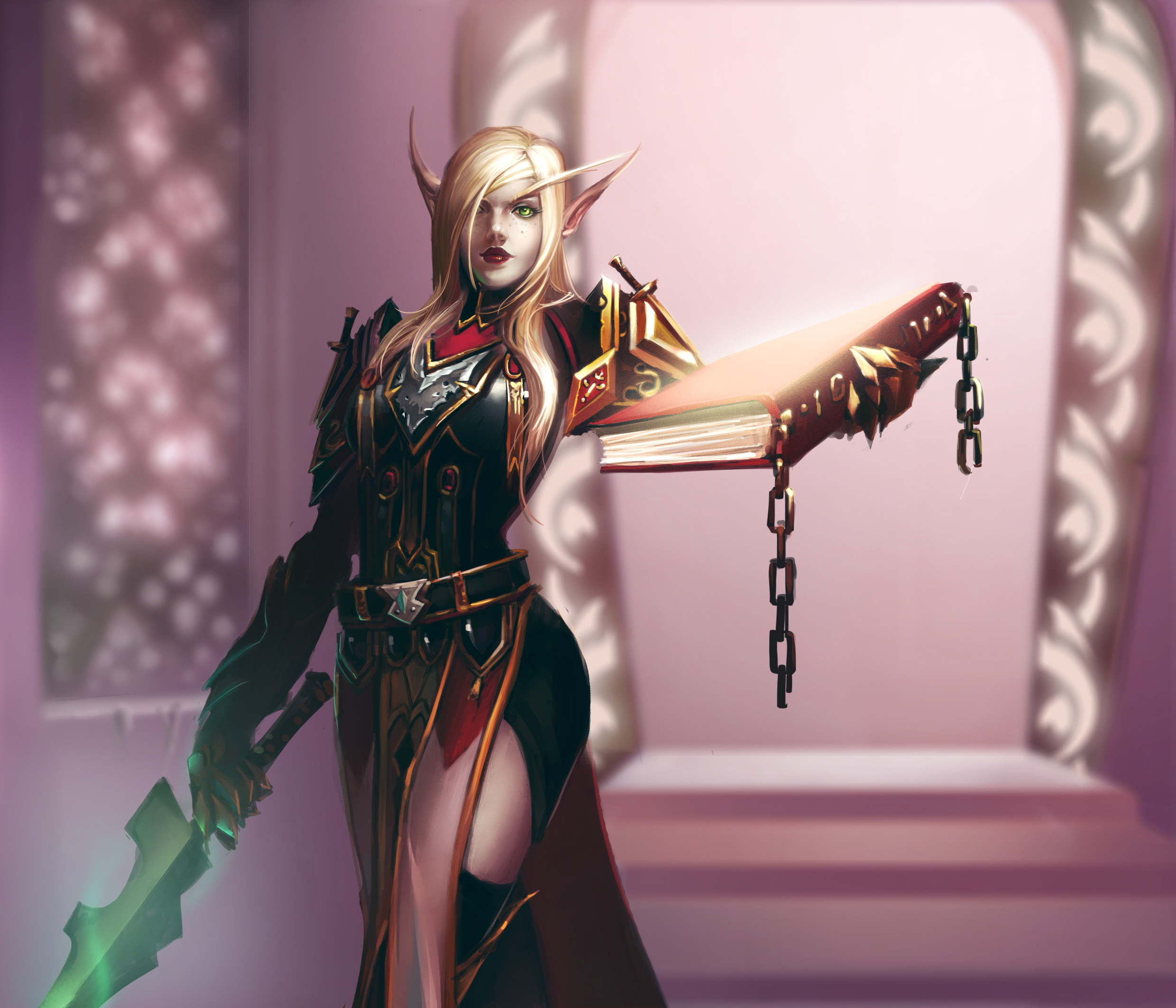 Blood elf lady sexy movies