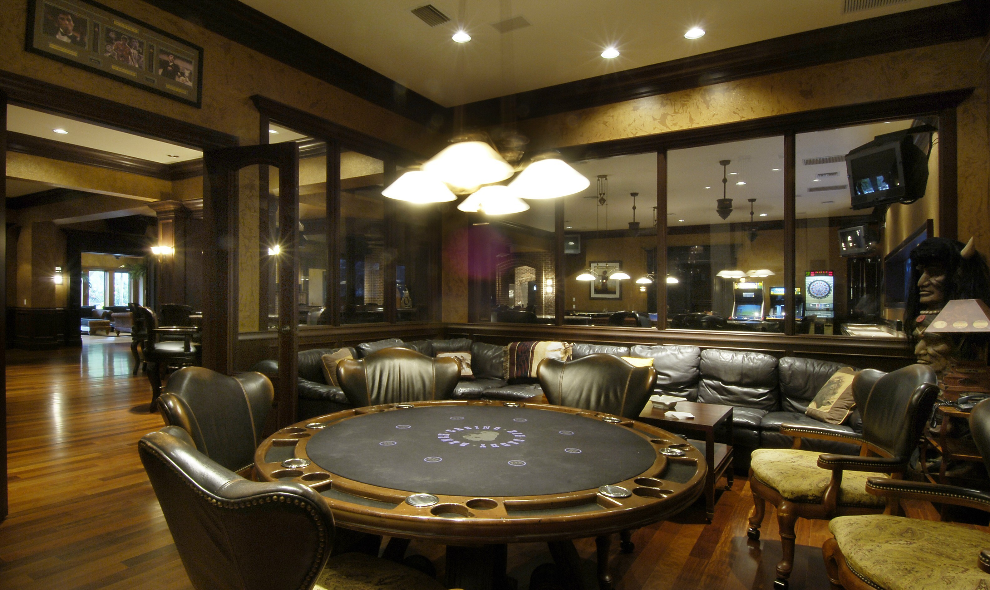 Poker room wallpaper